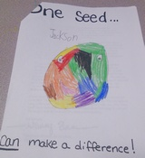 Kid�s Art of One Seed