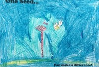 Kid's Art of One Seed